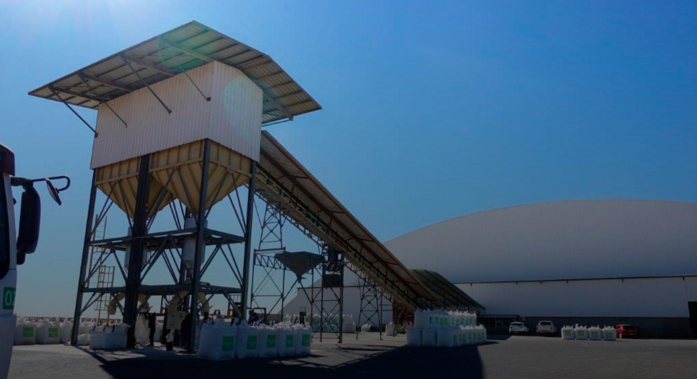 Largest Fertilizer Blending Plant In Africa